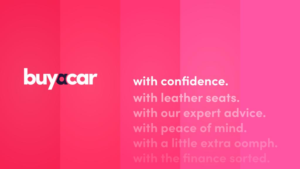Buyacar mnemonic in Pink